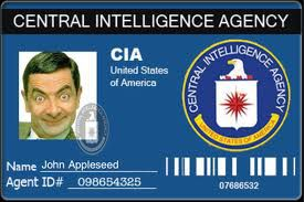 cia badges, fakeids cia novelty id cards