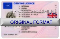 UK DRIVER LICENSE ORIGINAL FORMAT, DESIGN SPECIFICATIONS, NOVELTY SECURITY CARD PROFILES, IDENTITY, NEW SOFTWARE ID SOFTWARE