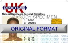 novelty id, novelty id card, driver license novelty UK IDENTITY  card, new identity software design custom